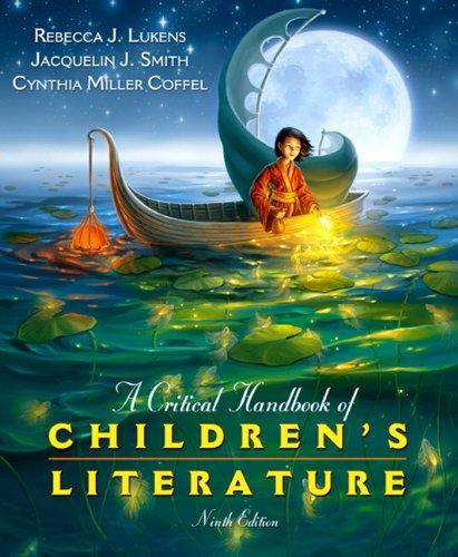 9780137056385: A Critical Handbook of Children's Literature (9th Edition)