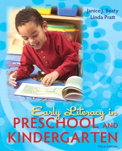 9780137056989: Early Literacy in Preschool and Kindergarten (3rd Edition)