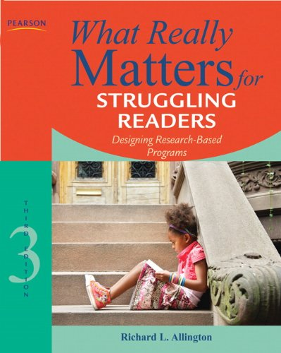 9780137057009: What Really Matters for Struggling Readers: Designing Research-Based Programs (3rd Edition) (What Really Matters Series)