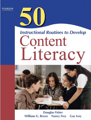 9780137057191: 50 Instructional Routines to Develop Content Literacy