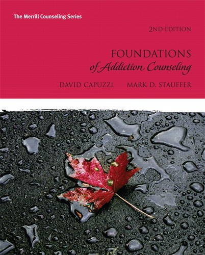 9780137057788: Foundations of Addiction Counseling (2nd Edition) (Merrill Counseling)