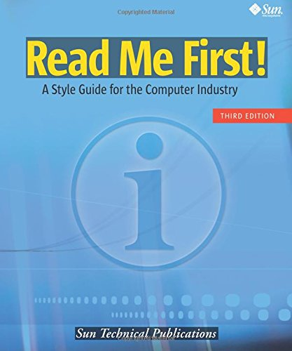 9780137058266: Read Me First! A Style Guide for the Computer Industry, Third Edition (3rd Edition)