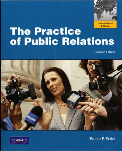 9780137058310: The Practice of Public Relations: International Edition