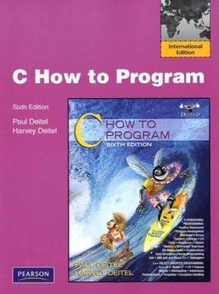 9780137059669: C: How to Program