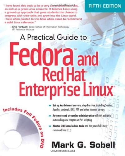 9780137060887: Practical Guide to Fedora and Red Hat Enterprise Linux, A (5th Edition)