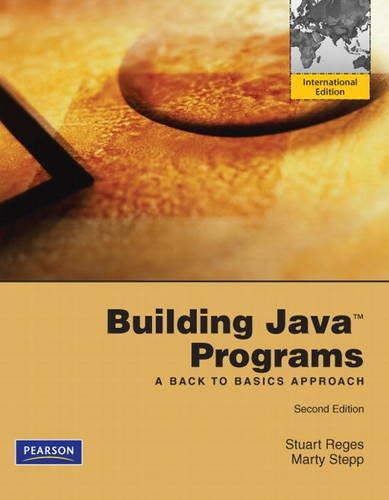 9780137062904: Building Java Programs: A Back to Basics Approach