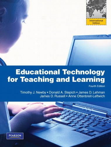 9780137063338: Educational Technology for Teaching and Learning