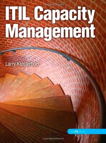 9780137065929: ITIL Capacity Management (paperback)