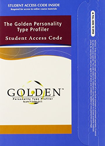 The Golden Personality Type Profiler: TalentLens