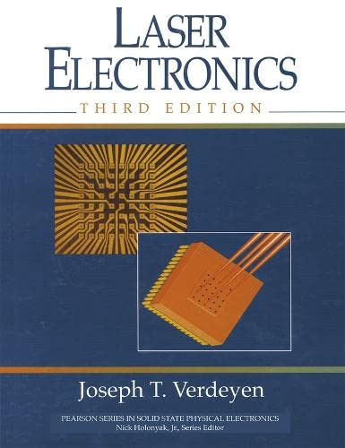 9780137066667: Laser Electronics (Prentice Hall Series in Solid State Physical Electronics)