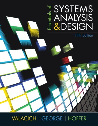 9780137067114: Essentials of Systems Analysis and Design (5th Edition)