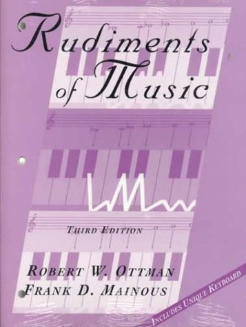 9780137067404: Rudiments of Music (3rd Edition)