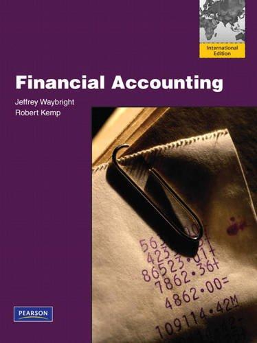 9780137067794: Financial Accounting: International Edition