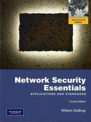 9780137067923: Network Security Essentials: International Version: Applications and Standards