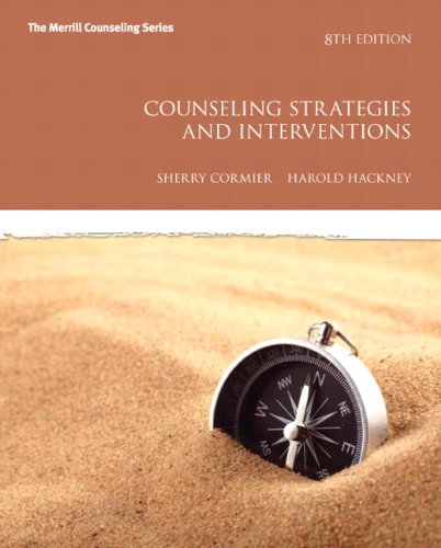 9780137070183: Counseling Strategies and Interventions (Merrill Counseling)