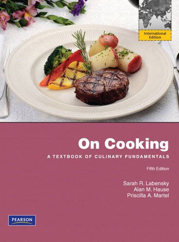 9780137070213: On Cooking: A Textbook of Culinary Fundamentals