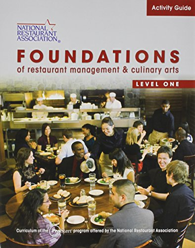 9780137070503: Activity Guide for Foundations of Restaurant Management and Culinary Arts: Level 1