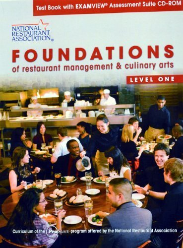 9780137070527: Foundations of Restaurant managemnet & culinary arts Level one textbook with examview assessment sui