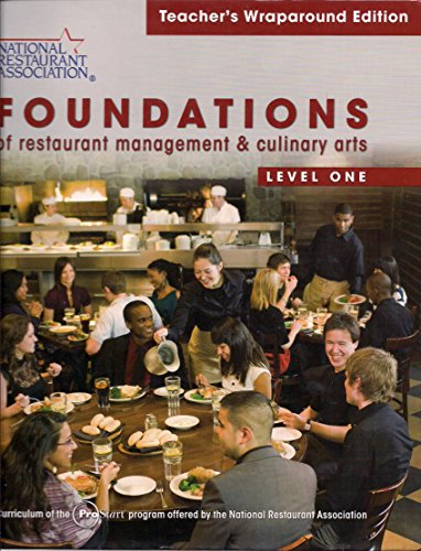 9780137070534: Teachers Wraparound Edition for Foundations of Restaurant Management & Culinary Arts: Level 1, 1/e