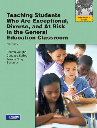 9780137070718: Teaching Students Who are Exceptional, Diverse, and at Risk in the General Education Classroom: International Edition
