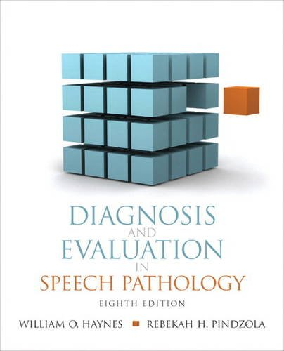 9780137071326: Diagnosis and Evaluation in Speech Pathology (8th Edition) (Allyn & Bacon Communication Sciences and Disorders)