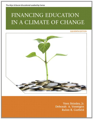 9780137071364: Financing Education in a Climate of Change (11th Edition)