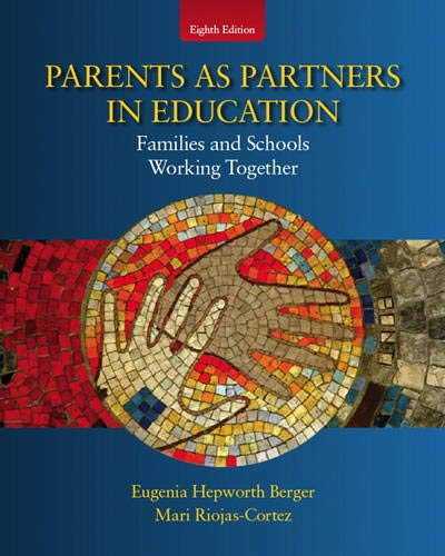 9780137072071: Parents as Partners in Education: Families and Schools Working Together (8th Edition)