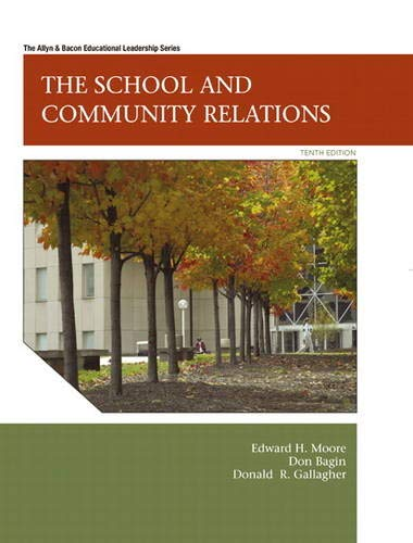 9780137072514: The School and Community Relations