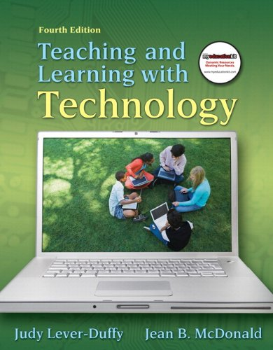 9780137073986: Teaching and Learning with Technology, and MyEducationKit (4th Edition) (Alternative Etext Formats)