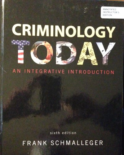 9780137074860: Criminology Today