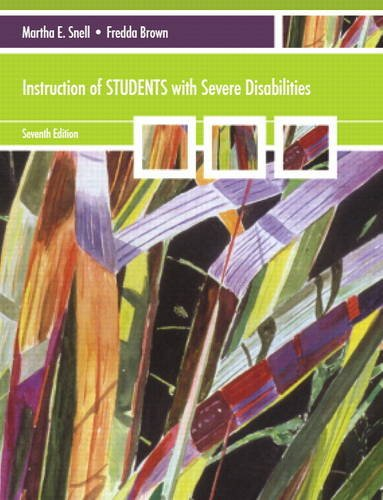 9780137075461: Instruction of Students with Severe Disabilities (7th Edition)