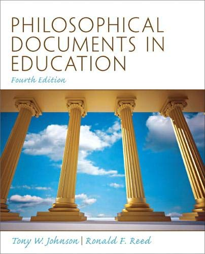 9780137080380: Philosophical Documents in Education (4th Edition)