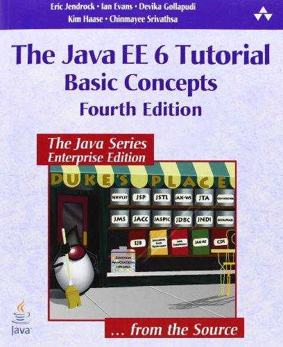 9780137081851: The Java EE 6 Tutorial: v. 1: Basic Concepts (Java Series)