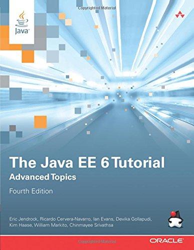 9780137081868: The Java EE 6 Tutorial: Advanced Topics (4th Edition) (Java Series)