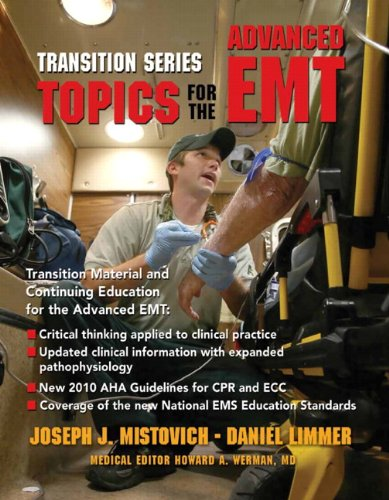 9780137082483: Transition Series: Topics for the Advanced EMT
