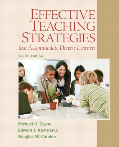 9780137084708: Effective Teaching Strategies That Accommodate Diverse Learners