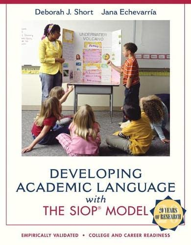 9780137085248: Developing Academic Language with the SIOP Model