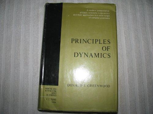 9780137089741: Principles of Dynamics
