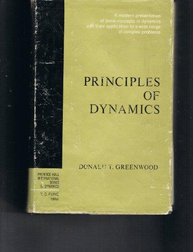 9780137089741: Principles of Dynamics (Prentice-Hall International Series in Dynamics)