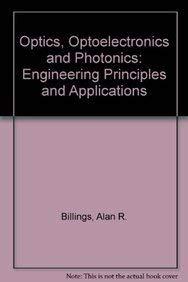9780137091157: Principles of Optics, Optoelectronics and Photonics (Prentice Hall international series in optoelectronics)