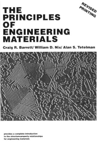 9780137093946: The Principles of Engineering Materials