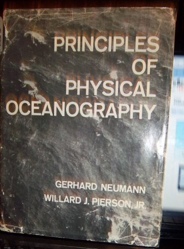 Principles of Physical Oceanography: Neumann, Gerhard