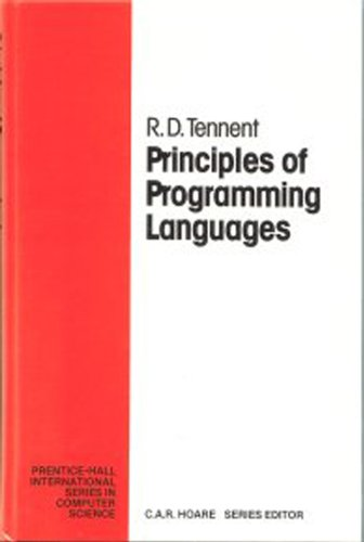 9780137098736: Principles of Programming Languages (Prentice Hall International Series in Computing Science)