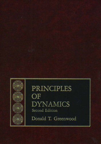 9780137099818: Principles of Dynamics (2nd Edition)