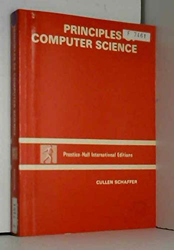 9780137100965: Principles of Computer Science