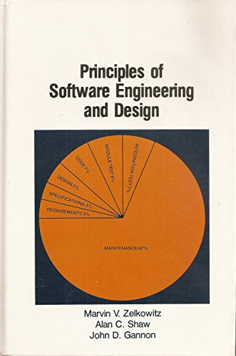 Principles of Software Engineering and Design: Zelkowitz, Martin, Alan