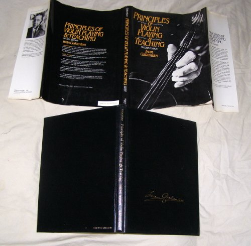 9780137107735: Principles of Violin Playing and Teaching