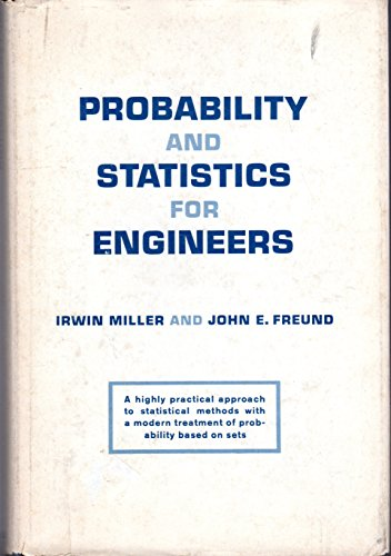 9780137116638: Probability and Statistics for Engineers
