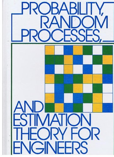 9780137117062: Probability, Random Processes and Estimation Theory for Engineers