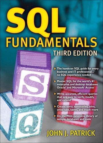 9780137126026: SQL Fundamentals (3rd Edition)